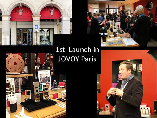 Jovoy, Paris