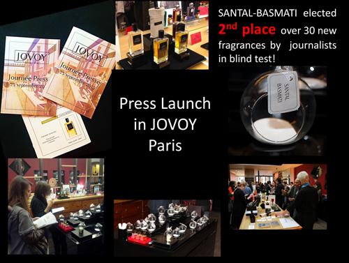 Press Launch JOVOY, Paris