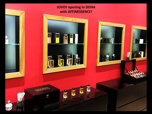 JOVOY 1st shop in Doha