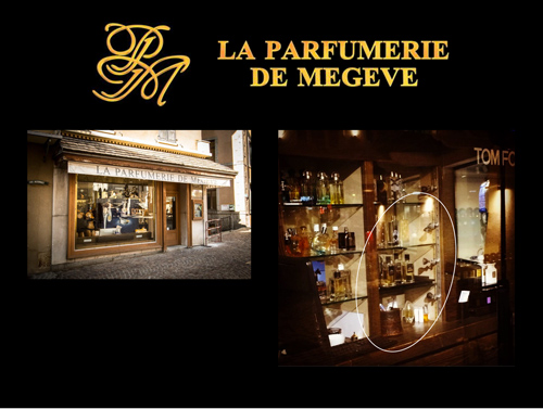 La parfumerie de Megève
