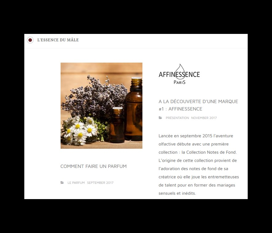 Fantastic article by the perfume blogger L'ESSENCE DU MÂLE