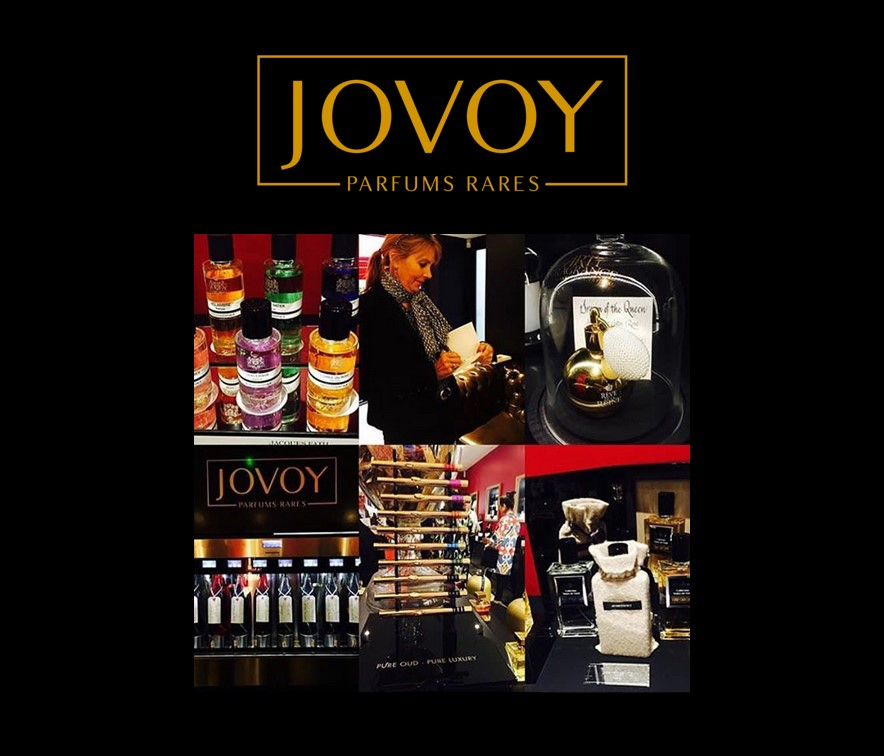 JOVOY London press event - CUIR-CURCUMA in the perfume bar