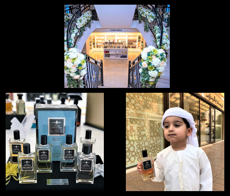 LIMITED GALLERY UAE - New AFFINESSENCE FRAGRANCES LAUNCHED!