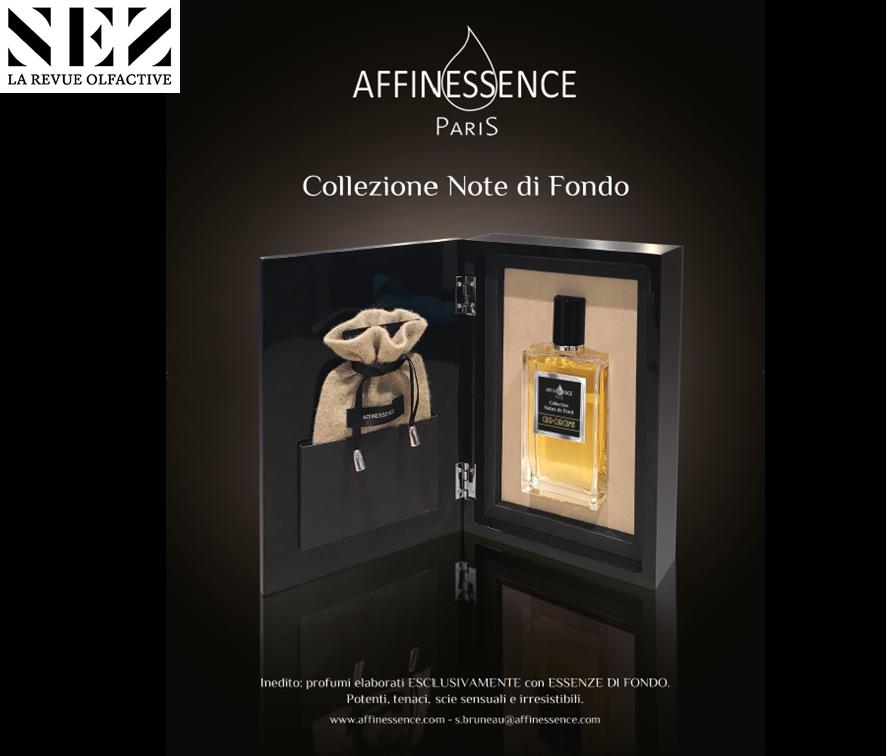 NEZ la revue olfactive AFFINESSENCE Cuir Curcuma Collection Notes de Fond - en italien !