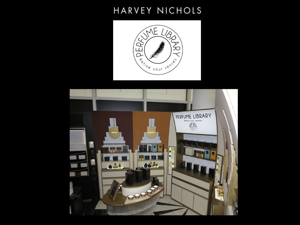 AFFINESSENCE IN HARVEY NICHOLS RIYADH IN KSA with Perfume Library