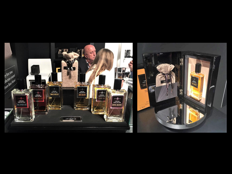 ESXENCE 2018 ITALY - AFFINESSENCE Collection Notes de Fond EXHIBITION in Milano