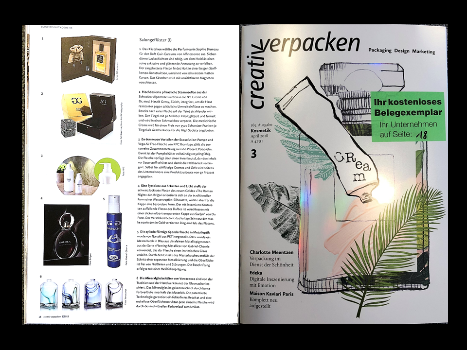 CREATIV VERPACKEN shows AFFINESSENCE lacquered WOOD COFFRET