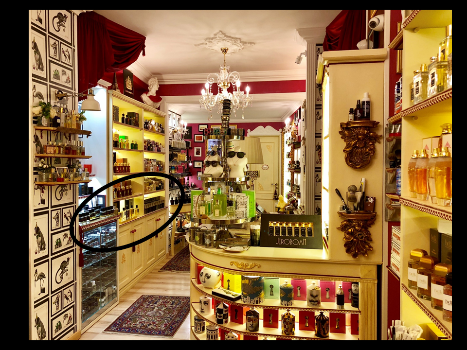 GRELA PERFUMERY IN ITALY loves AFFINESSENCE Collection Notes de Fond