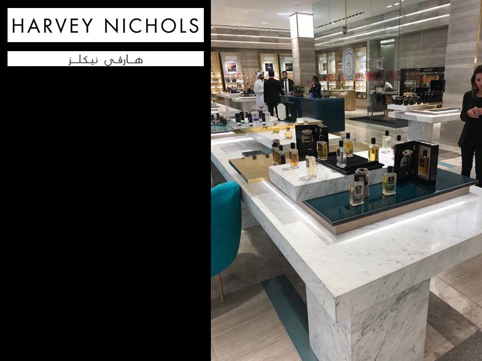 HARVEY NICHOLS in Doha - QATAR - AFFINESSENCE June 2018 - Collection Notes de Fond