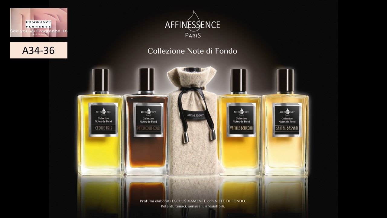 PITTI IMAGINE FRAGRANZE AFFINESSENCE IN FLORENCE ITALY 14th-16th September 2018