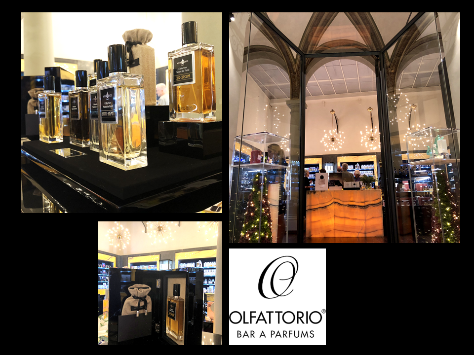 AFFINESSENCE IN OLFATTORIO BAR A PARFUMS FIRENZE FLORENCE