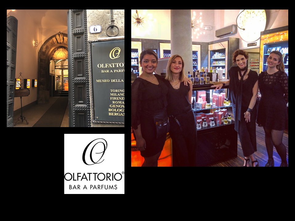 OLFATTORIO LAUNCHES AFFINESSENCE IN BAR A PARFUMS FIRENZE FLORENCE