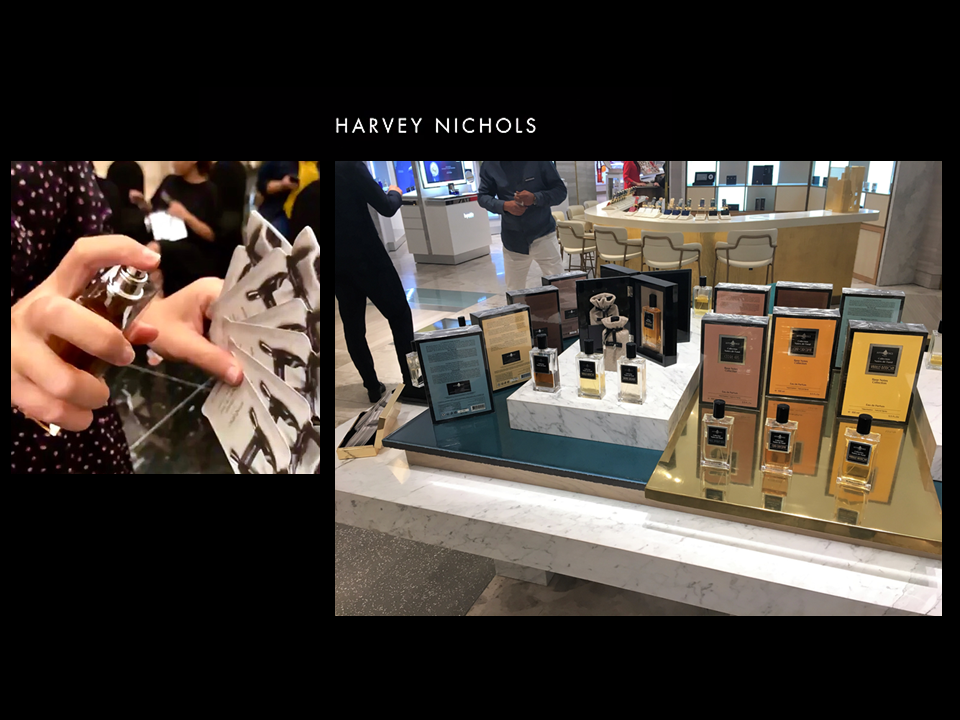 26 oct 2018 visit HARVEY NICHOLS DOHA QATAR - AFFINESSENCE