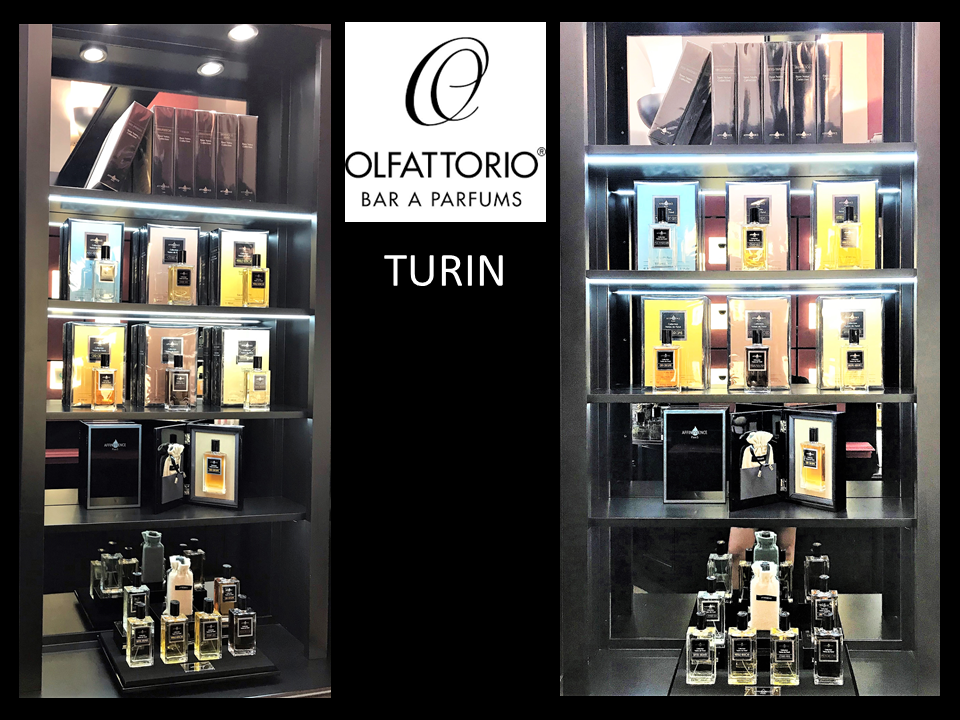 AFFINESSENCE - TURIN - TORINO - OLFATTORIO BAR A PARFUMS