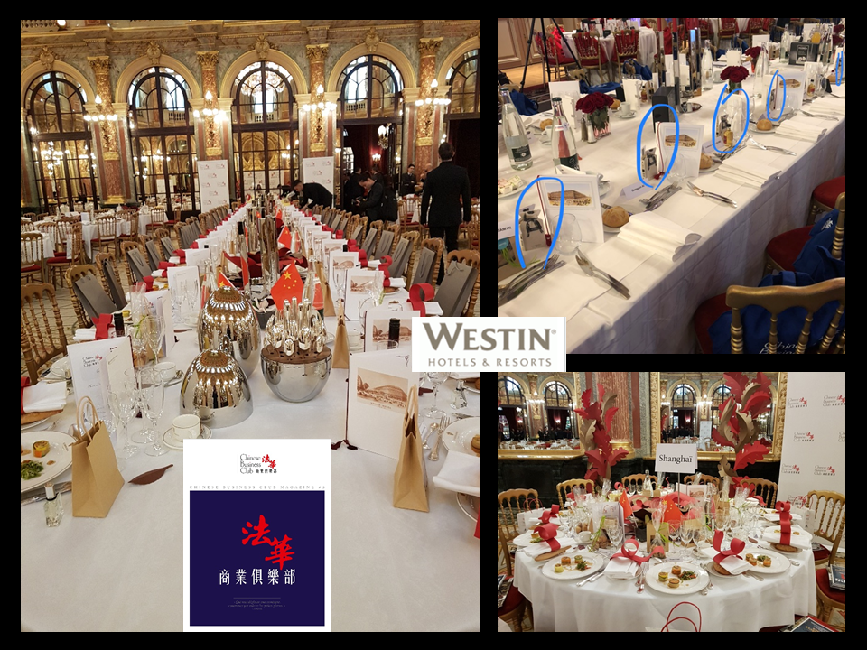 CHINESE BUSINESS CLUB EVENT AT WESTIN LUXURIOUS SALON