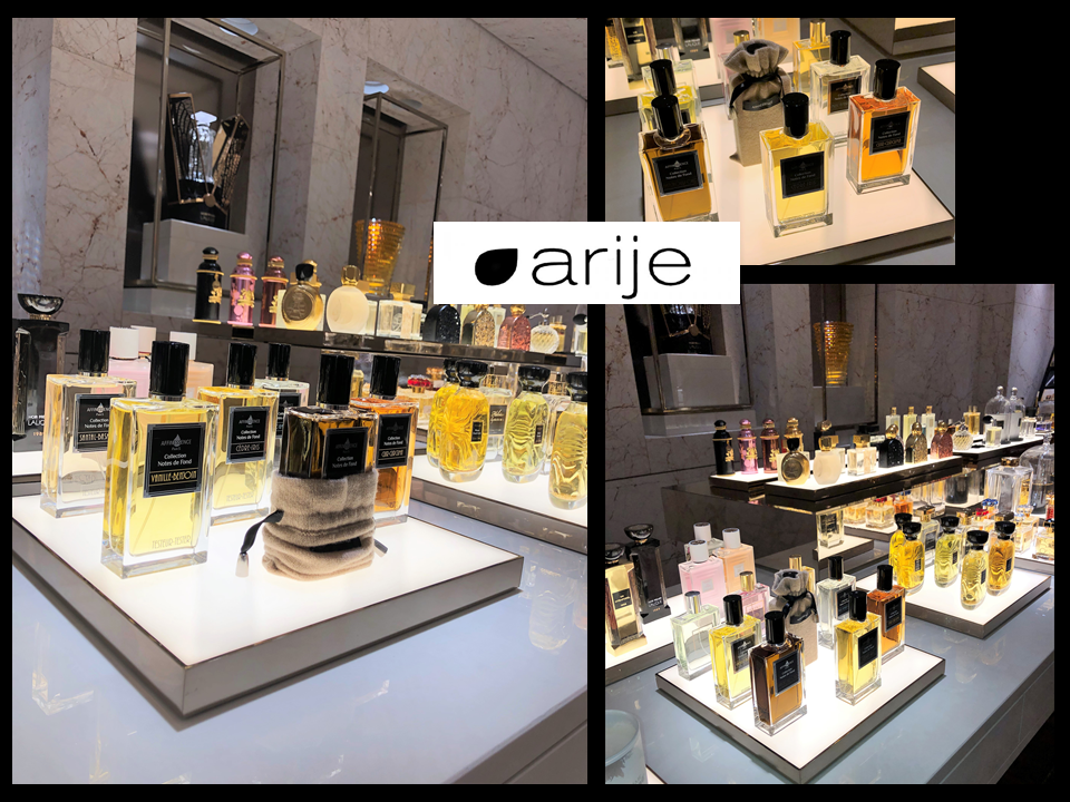 ARIJE - AFFINESSENCE Collection Notes de Fond - PARIS