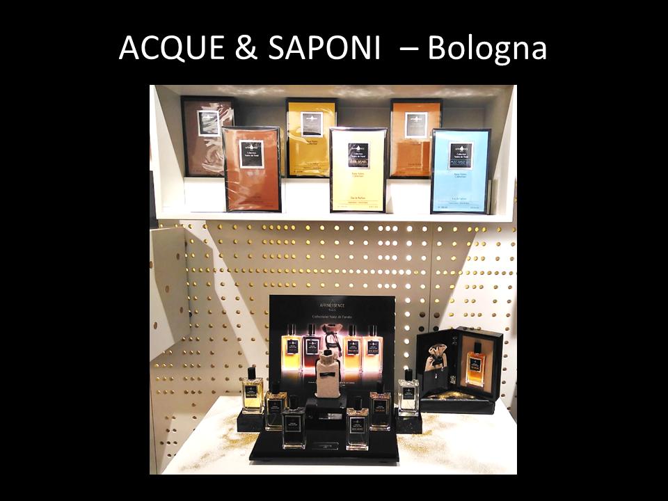 ACQUE & SAPONI  – Bologna