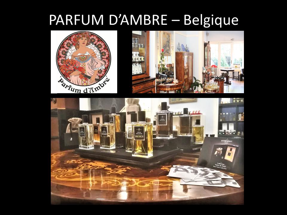 PARFUM D'AMBRE – Belgique