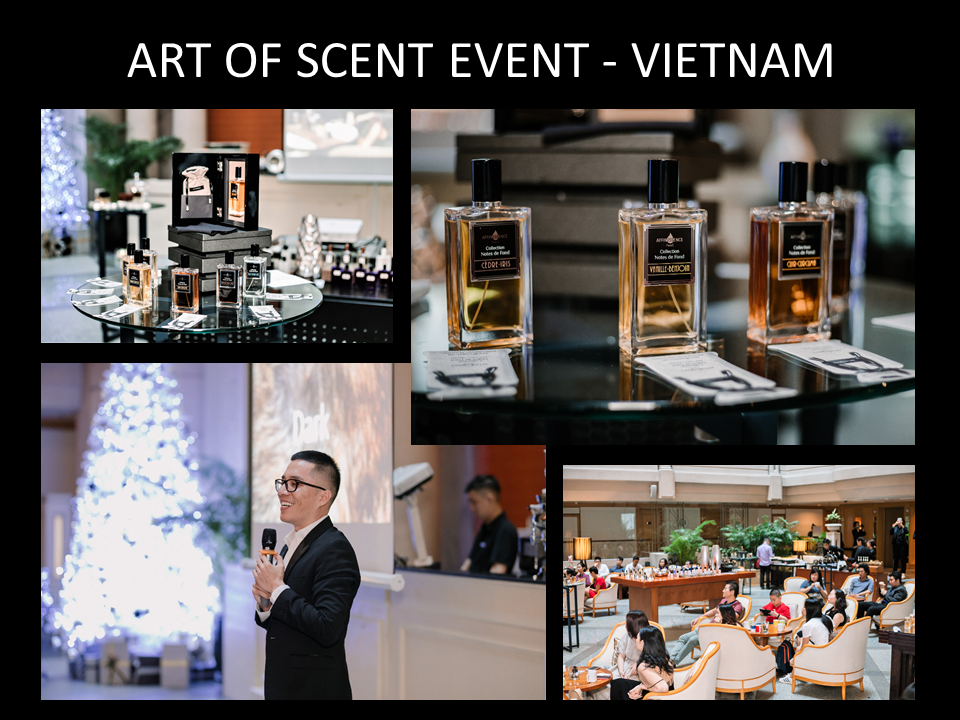 ART OF SCENT EVENT - VIETNAM