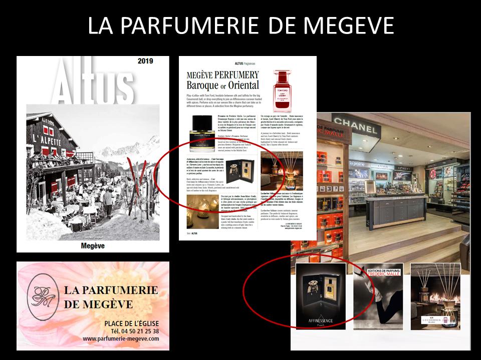 ALTUS - LA PARFUMERIE DE MEGEVE