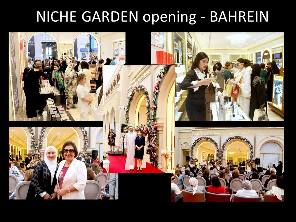 NICHE GARDEN opening - BAHRAIN