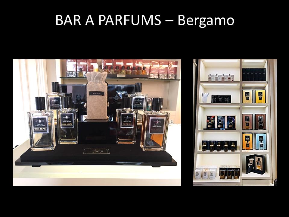 BAR A PARFUMS – Bergamo - AFFINESSENCE