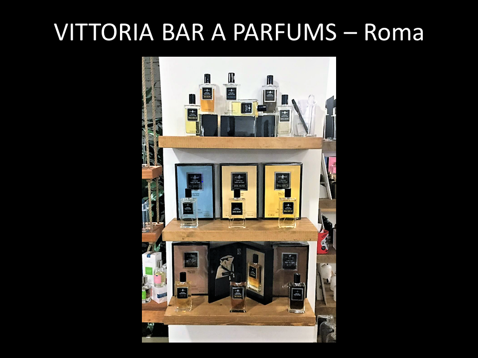 VITTORIA BAR A PARFUMS – Roma - AFFINESSENCE