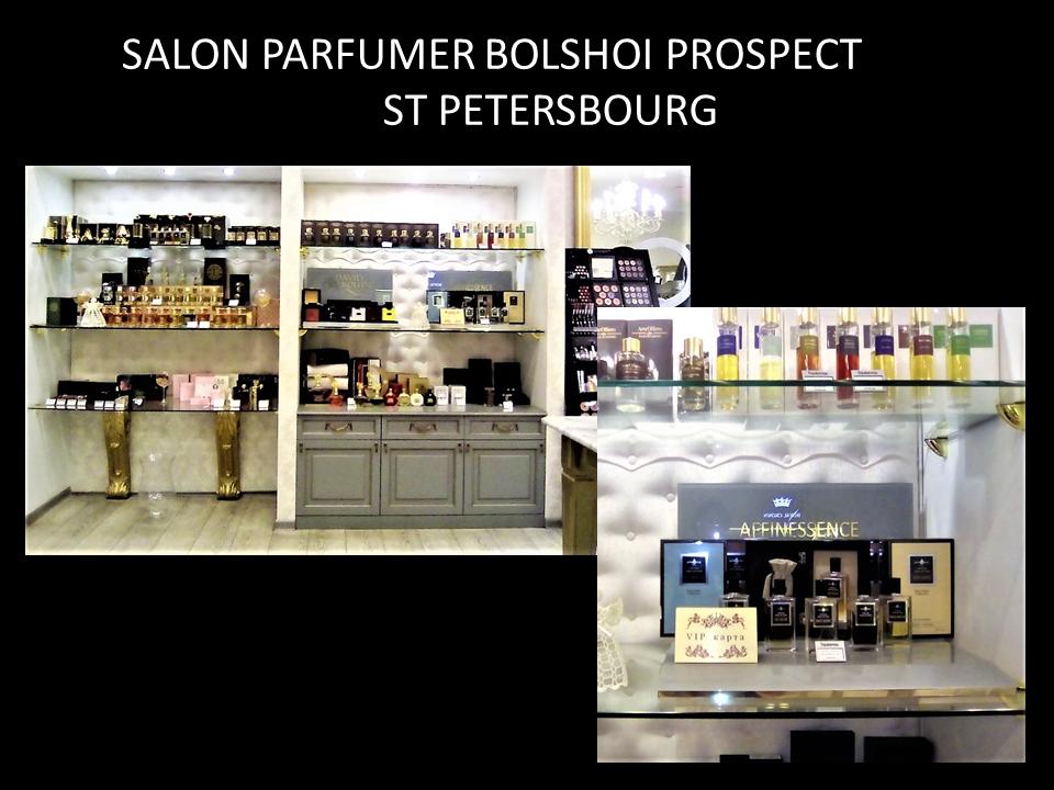 SALON PARFUMER BOLSHOI PROSPECT  ST PETERSBOURG