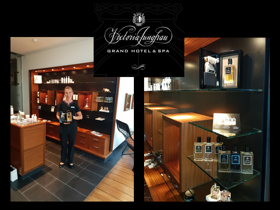 Hôtel Victoria Jungfrau Interlaken AFFINESSENCE parfums duft