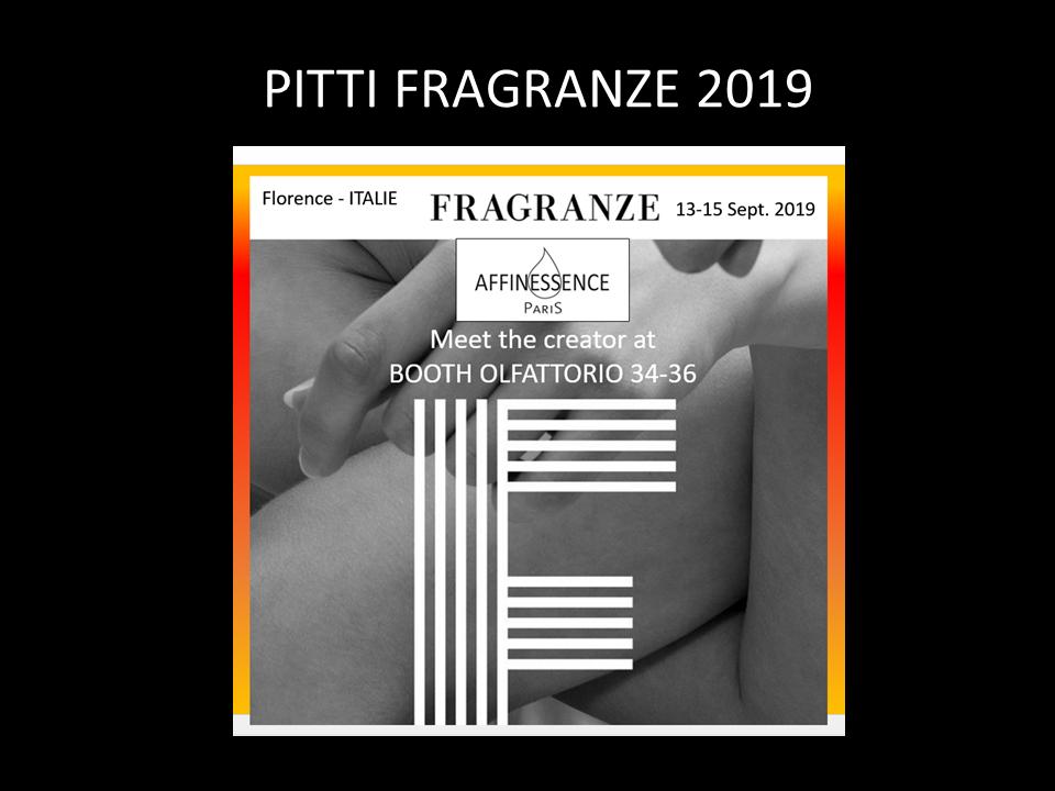 PITTI FRAGRANZE 2019 AFFINESSENCE