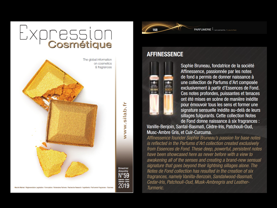 EXPRESSION COSMETIQUE  AFFINESSENCE 15 ML LAUNCH