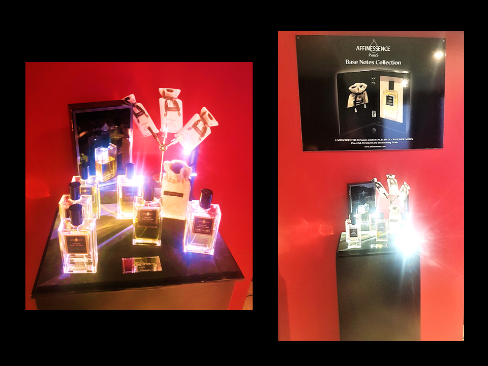 AFFINESSENCE DISPLAY AT JOVOY MAYFAIR IN LONDON