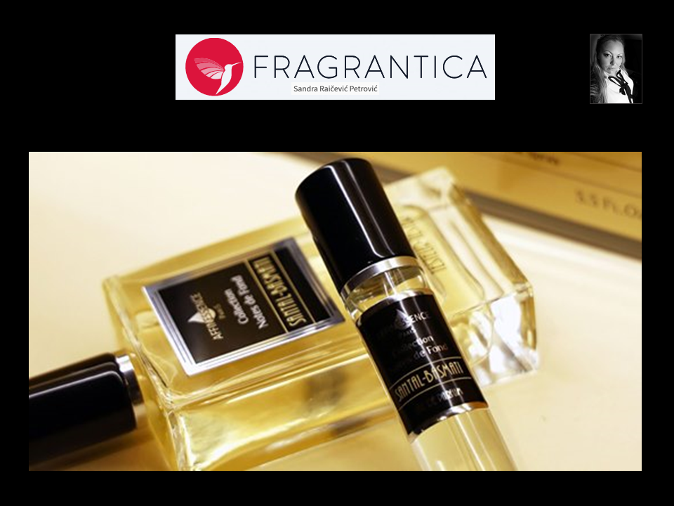FRAGRANTICA AFFINESSENCE travel spray SANTAL BASMATI