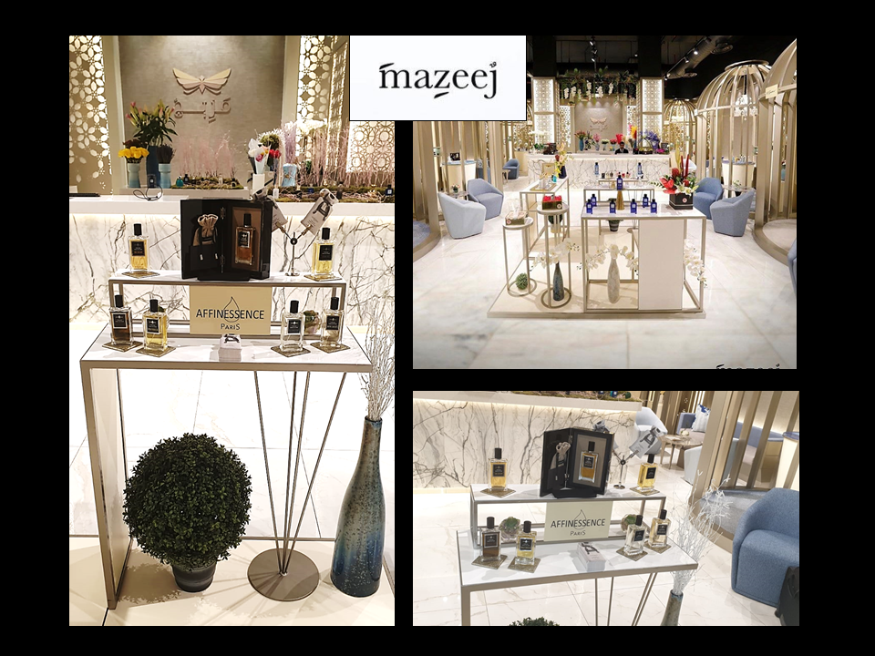 AFFINESSENCE in MAZEEJ KUWAIT perfume luxury niche the avenues