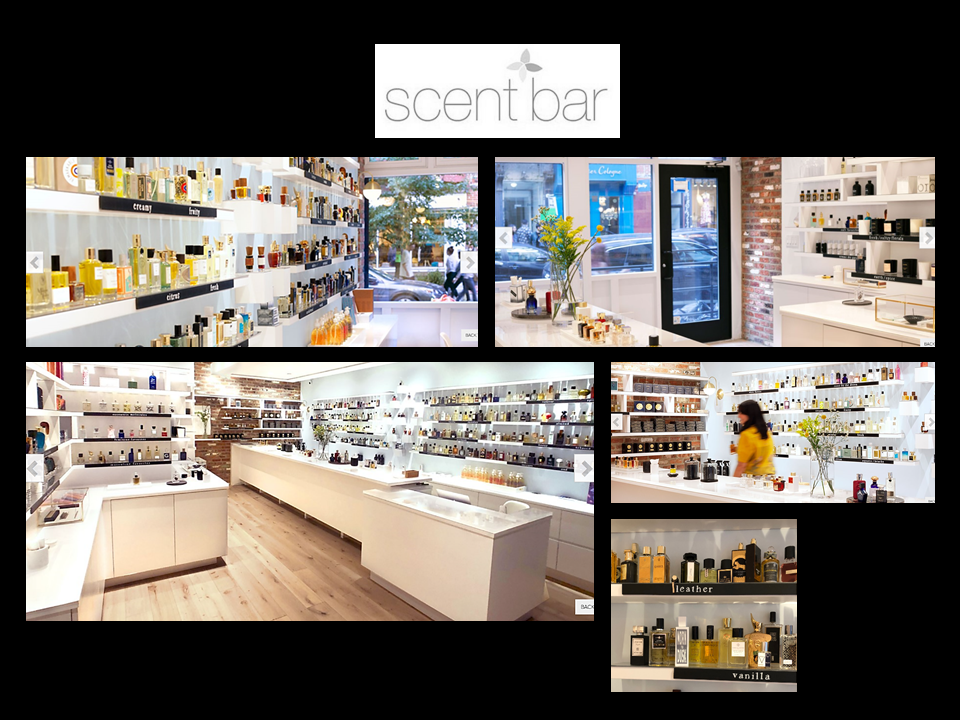 AFFINESSENCE in SCENT BAR NYC luxury niche perfume New-York NY