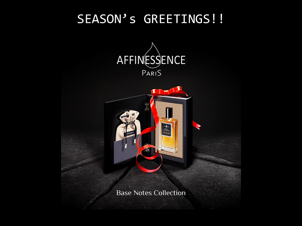 AFFINESSENCE HAPPY CHRISTMAS - Nice Present Lacquered Coffret
