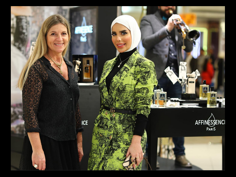HARVEY NICHOLS KUWAIT event Nov 2019 Affinessence Notes de Fond with Zahraa !!