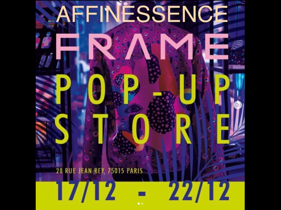 POP UP STORE in Paris at PULLMAN with L'Artyrie AFFINESSENCE