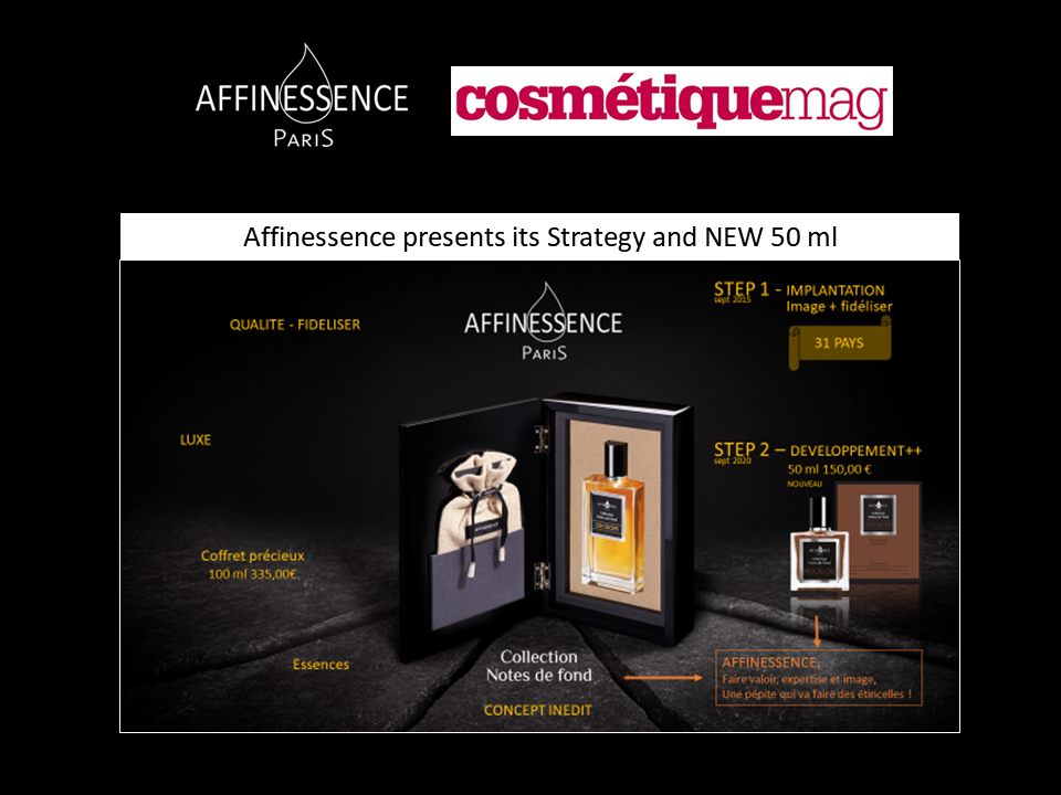COSMETIQUEMAG INDIES FORUM - AFFINESSENCE wins a MEDAL!