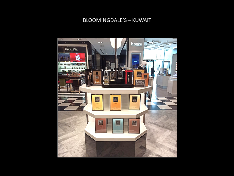 AFFINESSENCE at BLOOMINGDALE'S KUWAIT
